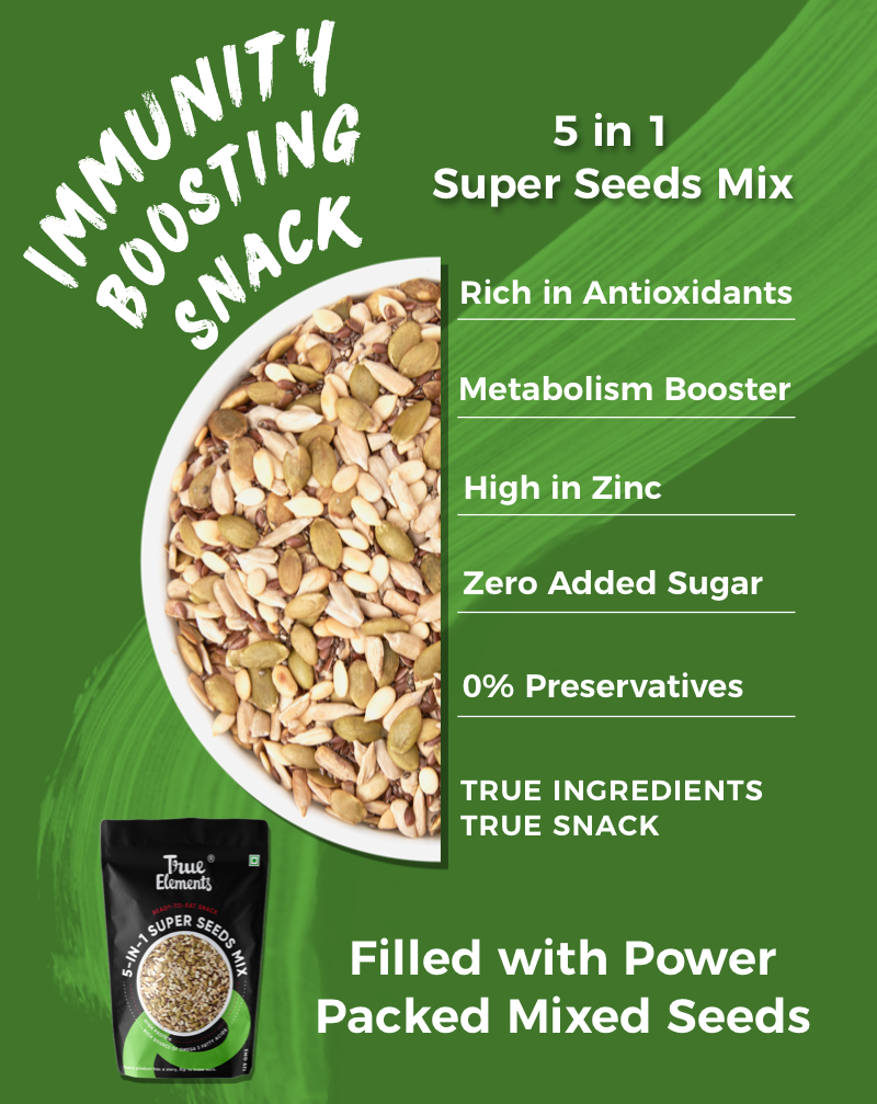 Roasted 5 in 1 Super Seeds - Improves Skin Health