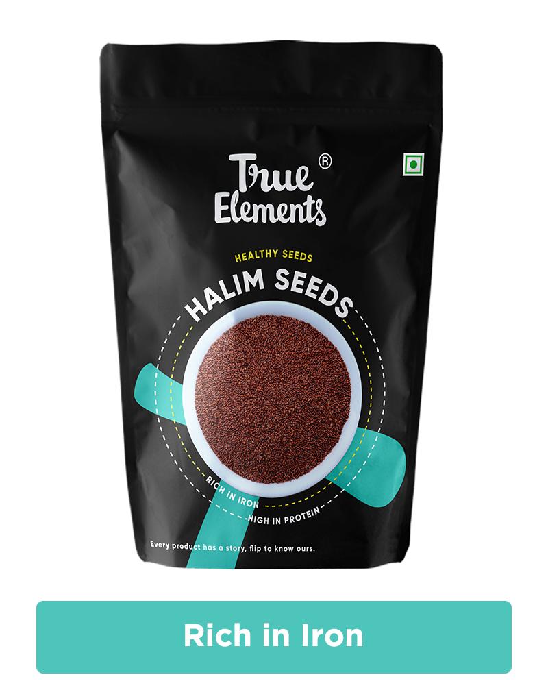 True Elements Halim Seeds - Iron Rich