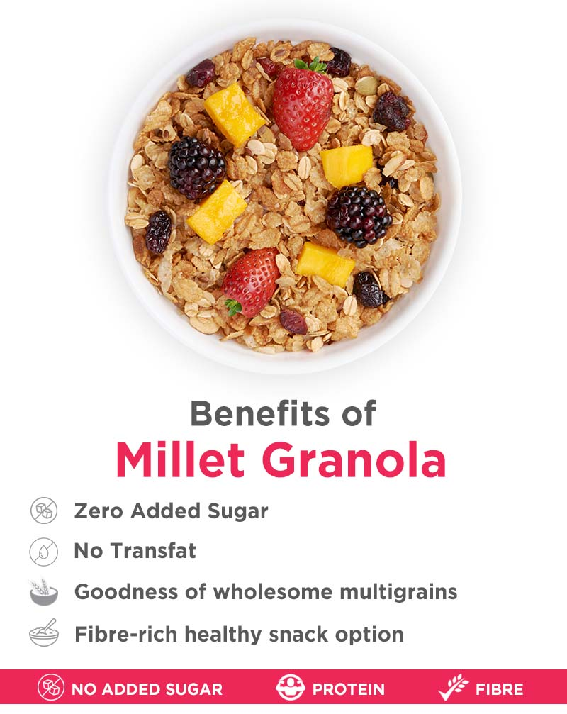 Millet Granola - Power of 4 Super Grains