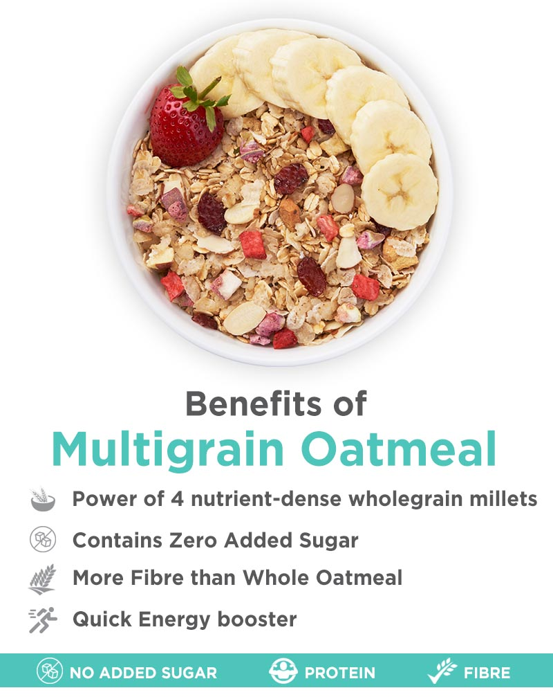 Multigrain Oatmeal - Improves Digestion