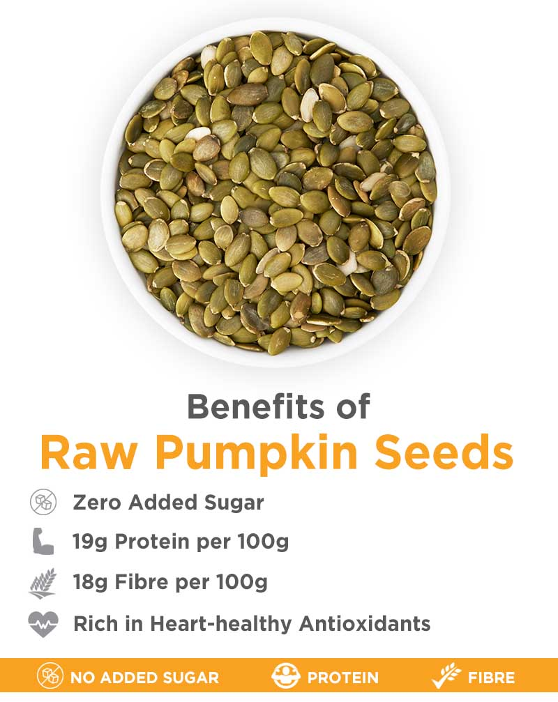Raw & Roasted Pumpkin Seeds Combo