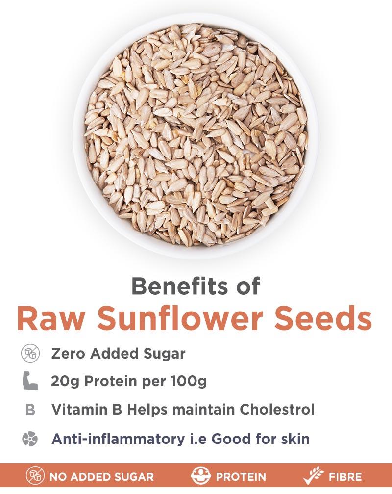 Raw Chia And Raw Sunflower Seeds Combo