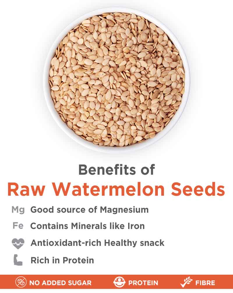 Raw Watermelon Seeds - Protein Rich