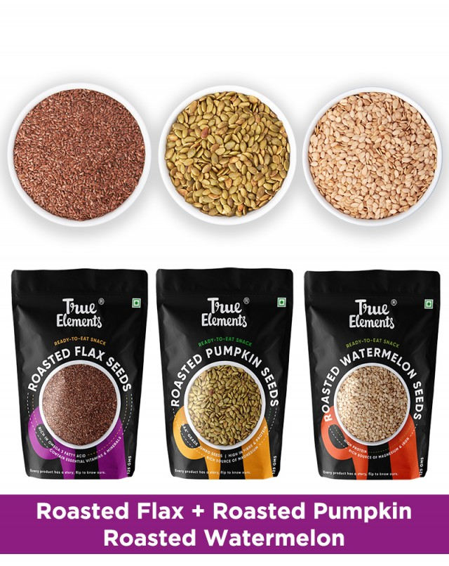 Roasted Seeds Combo - Lower Cholesterol