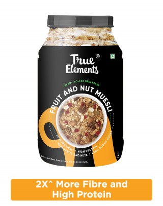 Fruit And Nut Muesli - Protein Rich