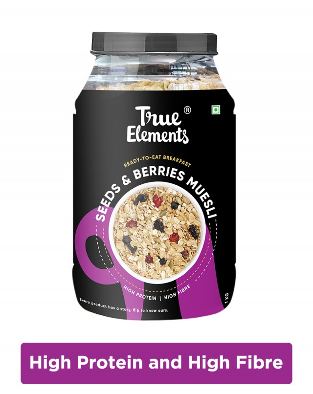 Seeds And Berries Muesli - Fibre Rich