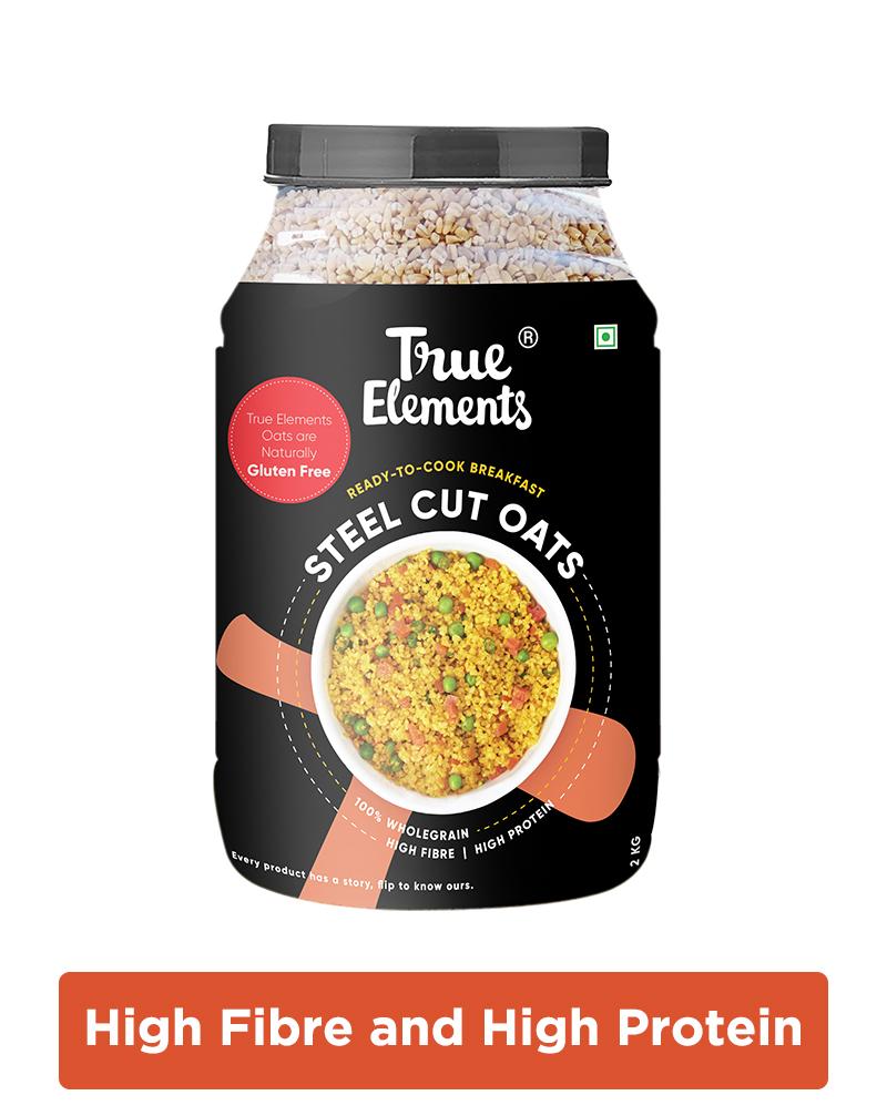 Gluten Free Steel Cut Oats - Vitamin Rich Oats