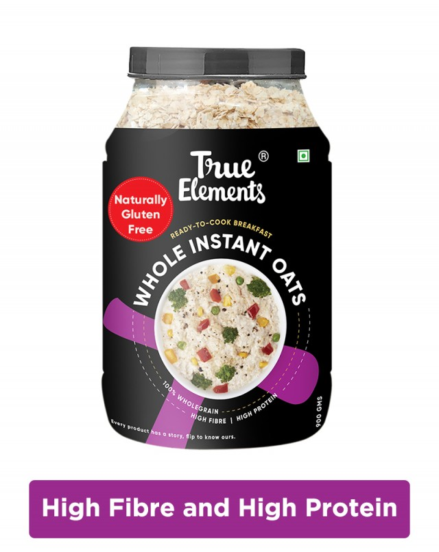 Gluten Free Whole Instant Oats - Fibre Rich Oats