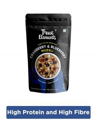 Cranberry & Blueberry Muesli 30gm - Fibre Rich