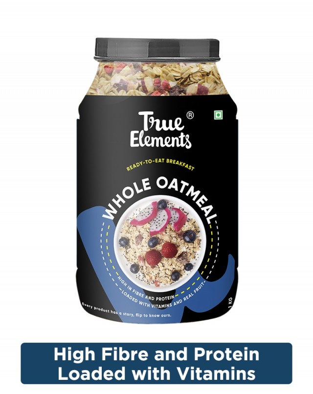 Whole Oatmeal with Chia & Fruits - Vitamin Rich