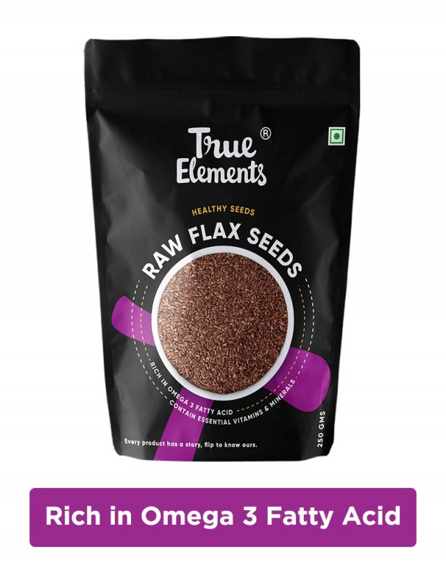 Raw Flax Seeds - Heart Healthy