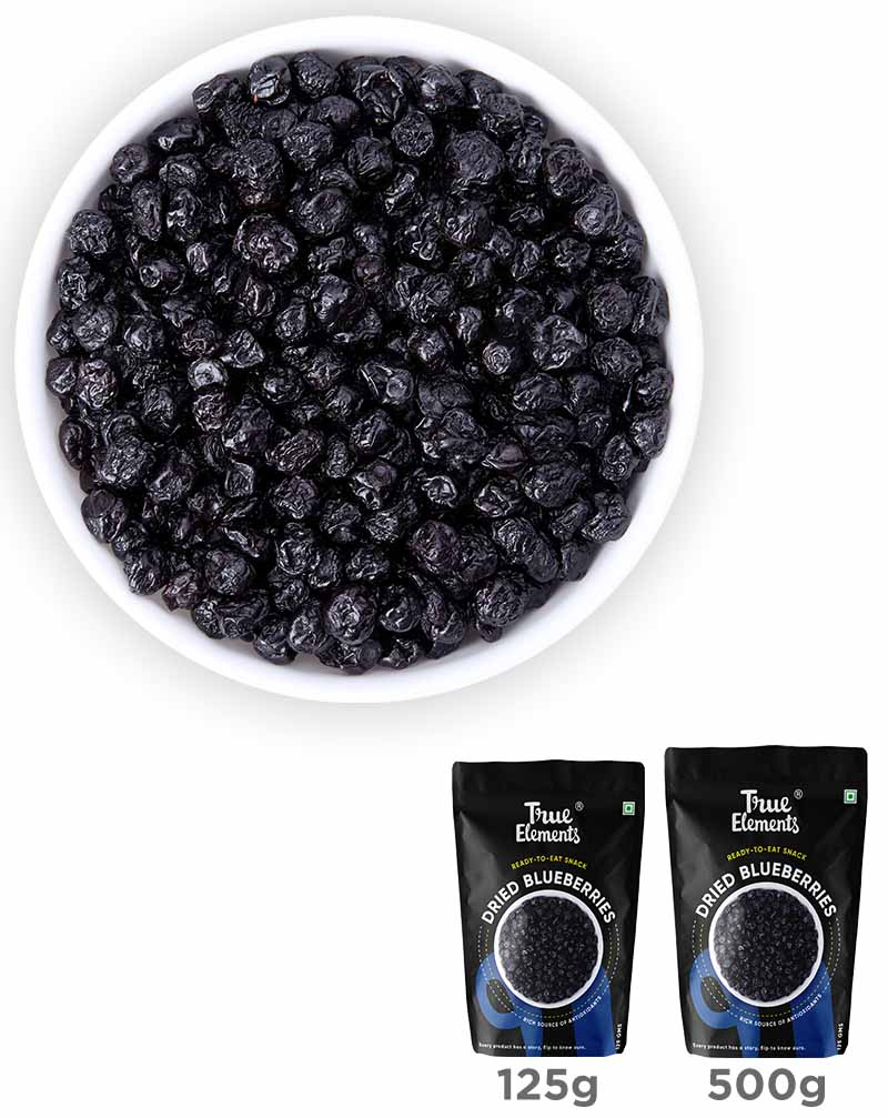 Dried Blueberries - Boosts Brain Health