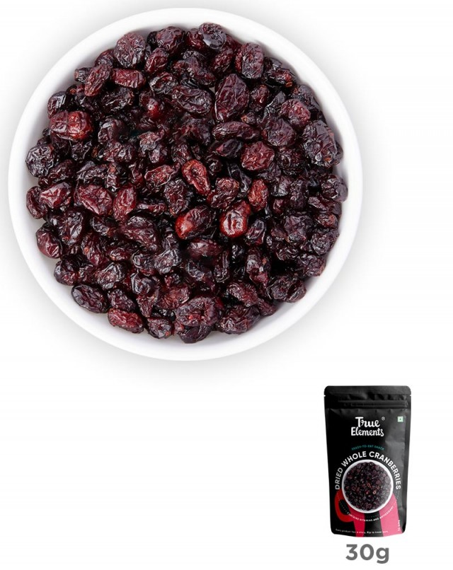Dried Whole Cranberries 30gm