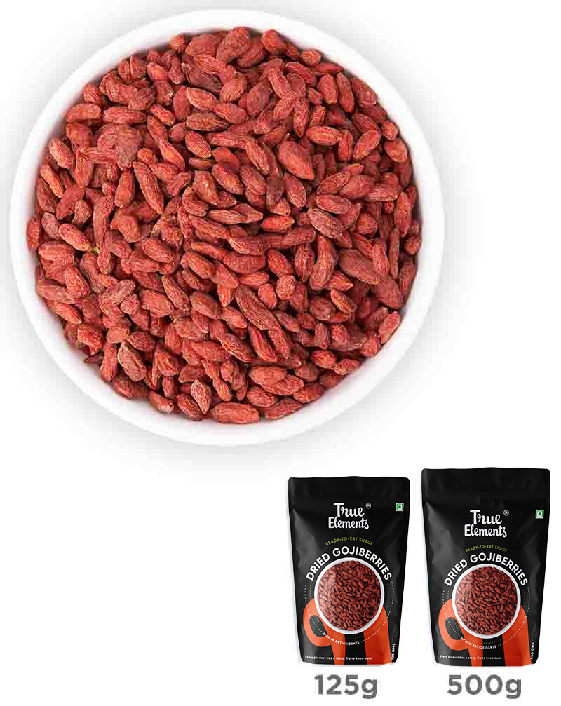 Dried Goji Berries - Calcium Rich