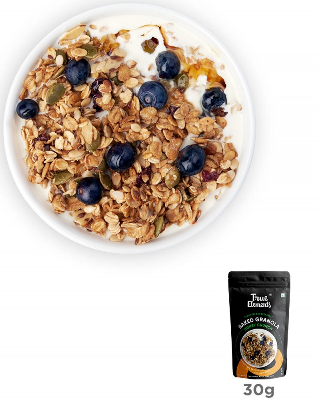 Baked Granola Honey Crunch 30gm