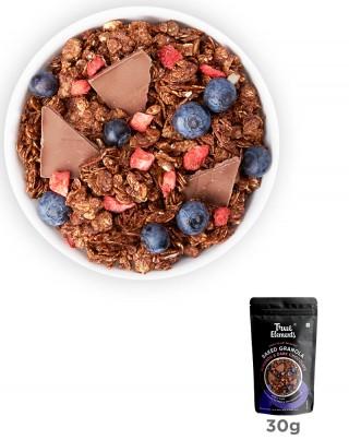 Chocolate Granola with 100% Dark Chocolate 30gm