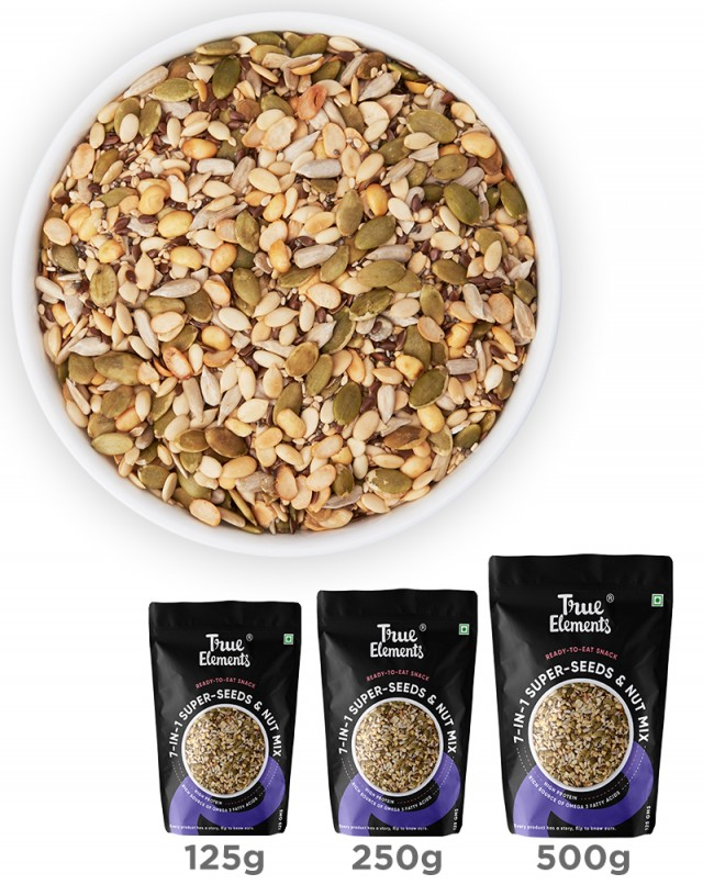 Roasted 7 in 1 Super Seeds Nut Mix - Diabetic Frie