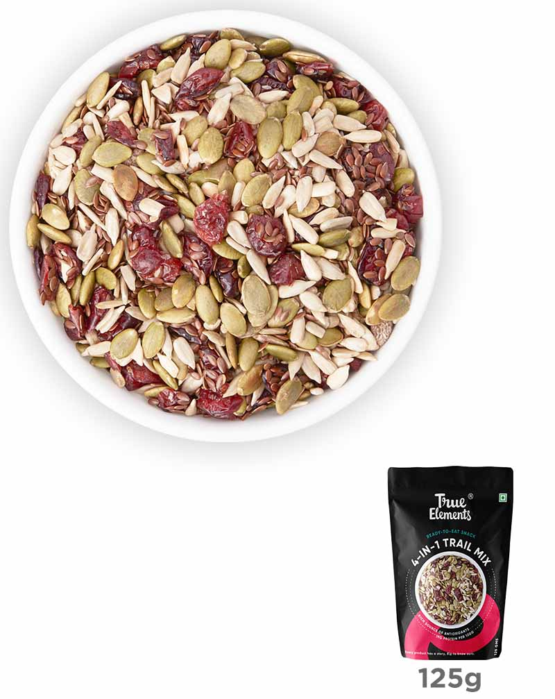 Roasted 4 in 1 Trail Mix Seeds - Heart Healthy