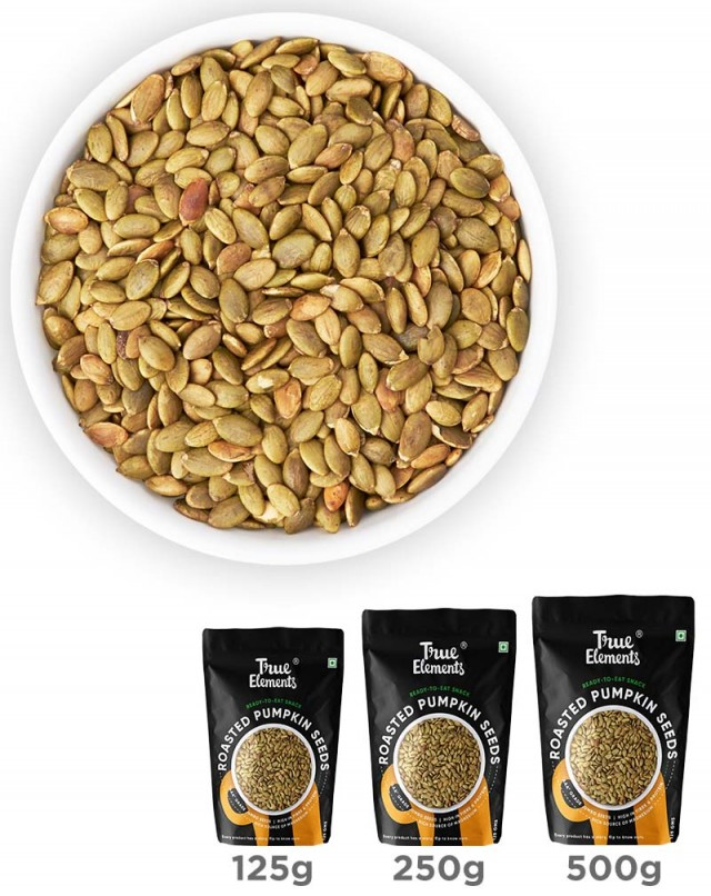 Roasted Pumpkin Seeds - Zinc Rich