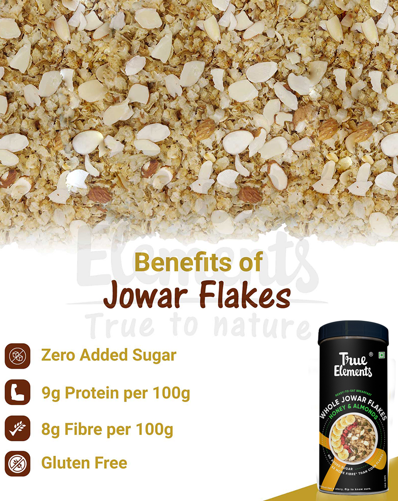 Jowar Flakes - Antioxidants Rich