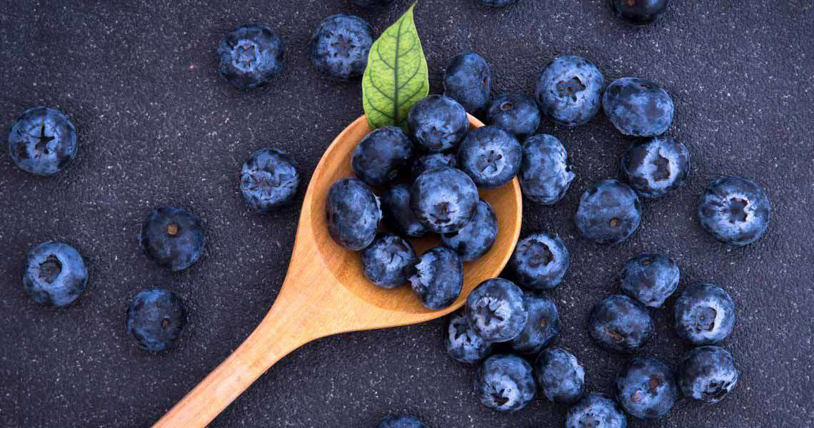 Antioxidant-Rich Blueberry Smoothie