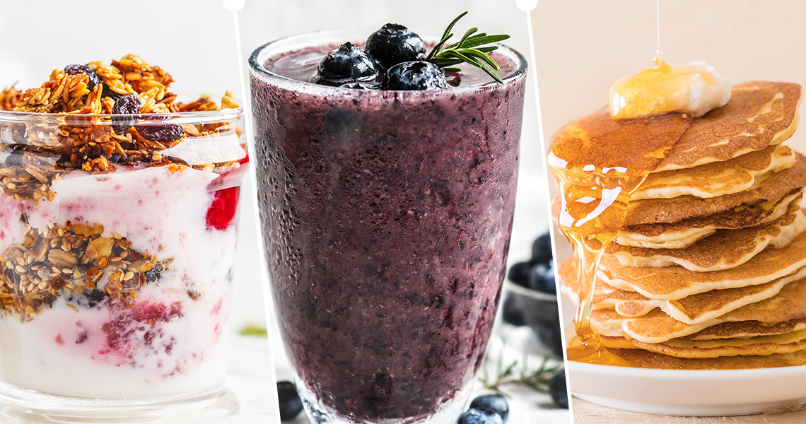 Quarantine recipes for Breakfast with just 3 Ingredients!