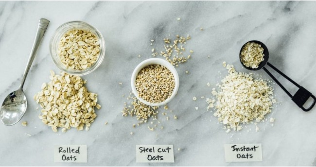 Rolled Oats vs Steel Cut Oats vs Instant Oats - Know the True Difference