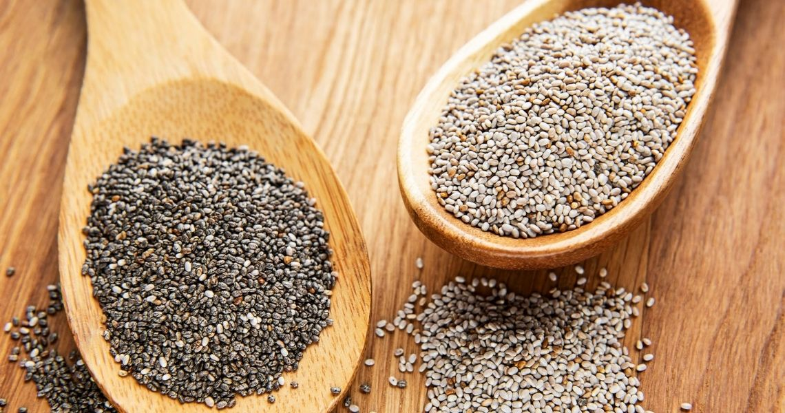 White Chia Seeds & Black Chia Seeds: Which One Has More Nutrients?