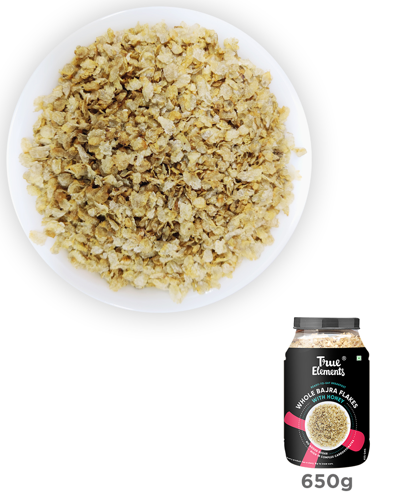 Bajra Flakes With Honey