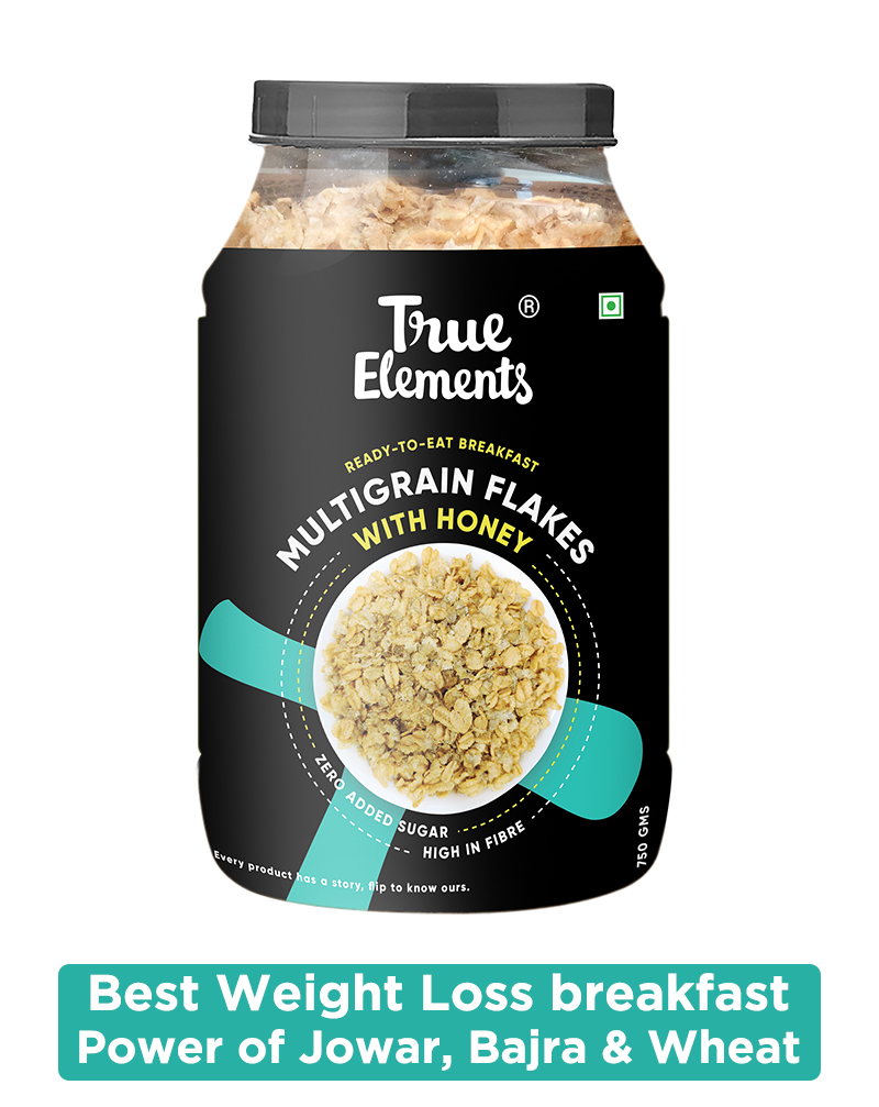 Multigrain Flakes With Honey