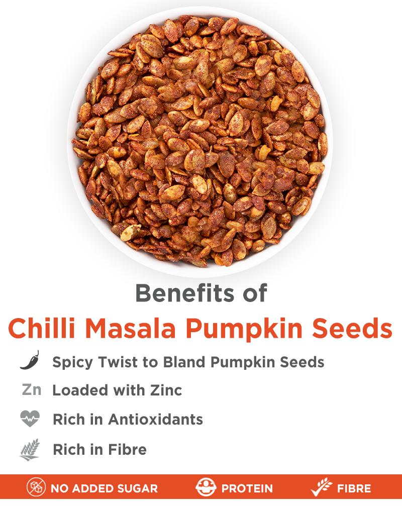 Chilli Masala Pumpkin - Chatpata Snacks