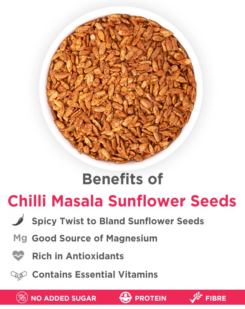Chilli Masala Sunflower - Vitamin E Rich