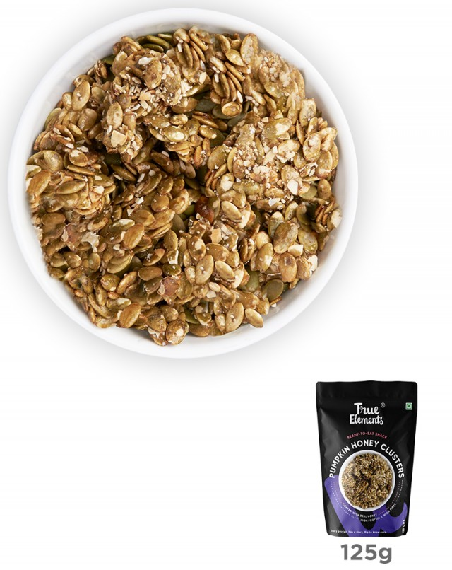 Pumpkin Seeds Honey Clusters, Iron Rich