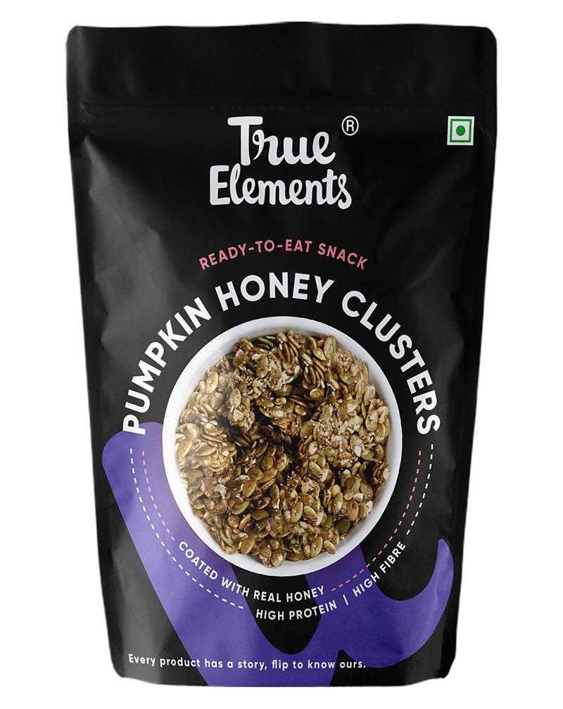 Pumpkin Seeds Honey Clusters, Iron Rich
