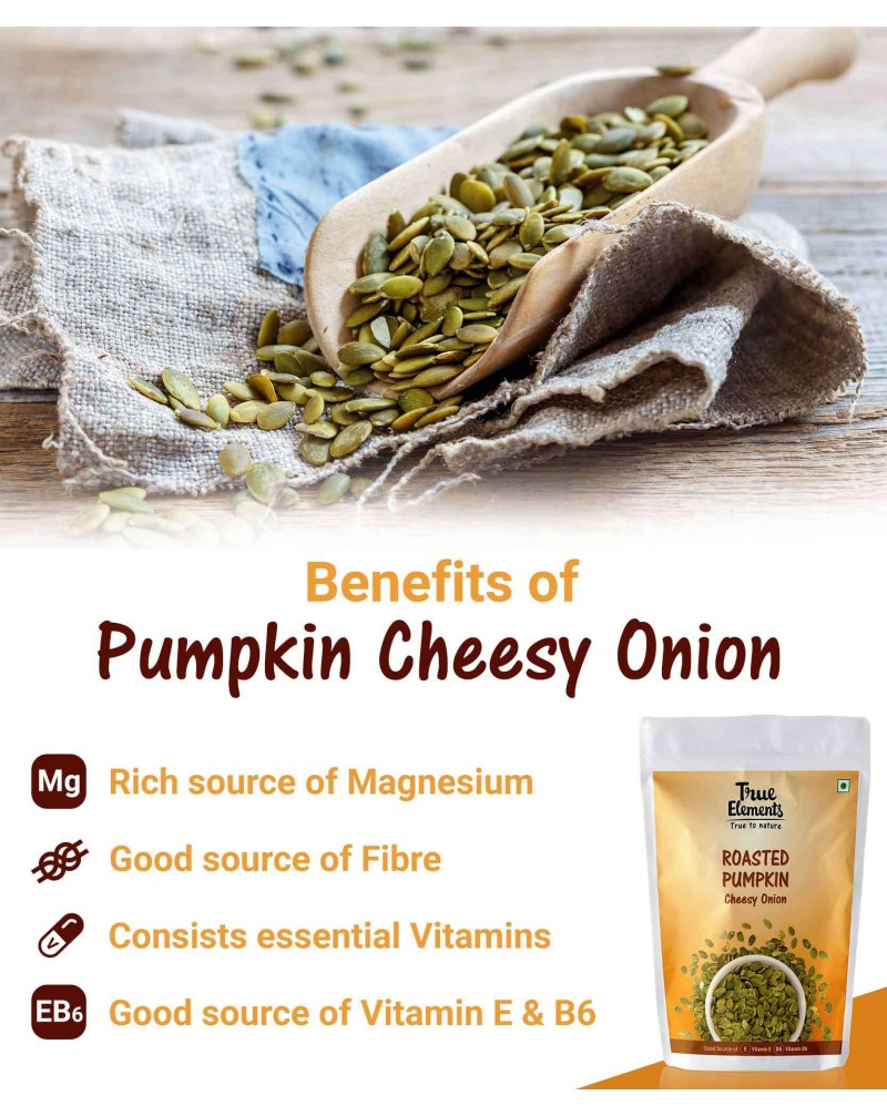 Roasted Pumpkin Seeds Cheesy Onion 30gm