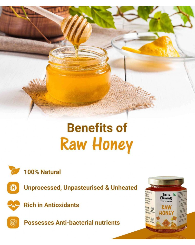 Raw Honey - Unheated And Unprocessed