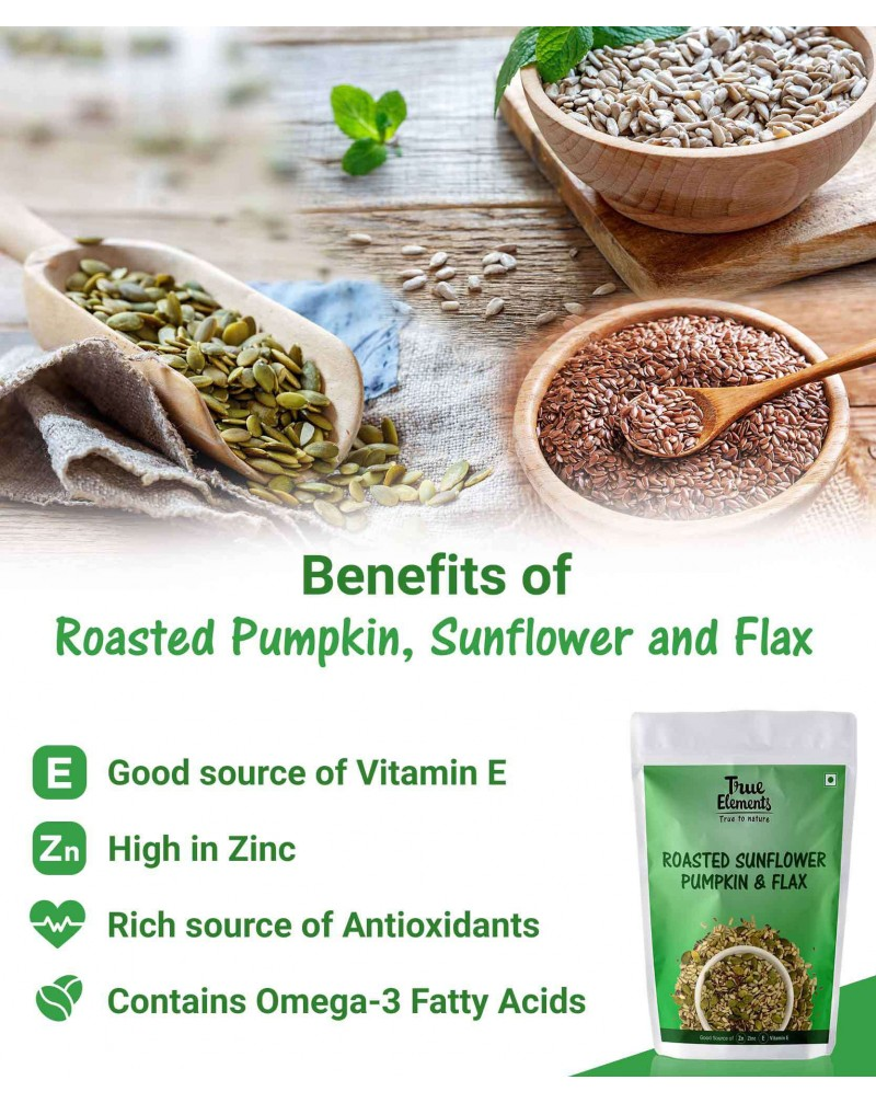 Roasted Sunflower Pumpkin & Flax Seeds