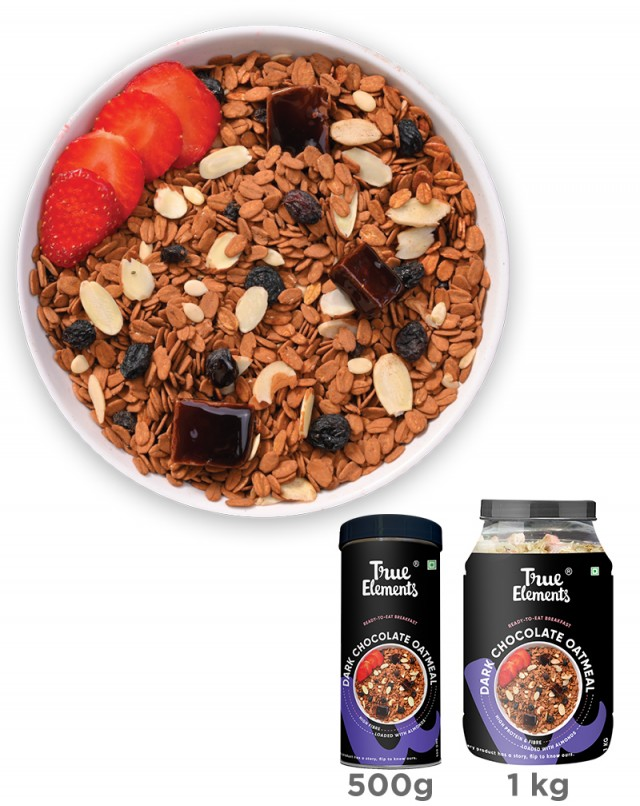 Dark Chocolate Oatmeal