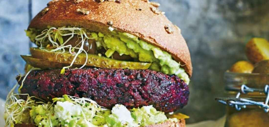 Beetroot Quinoa Patty