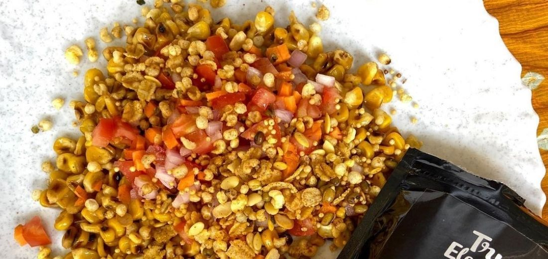 Crunchy Corn Chaat