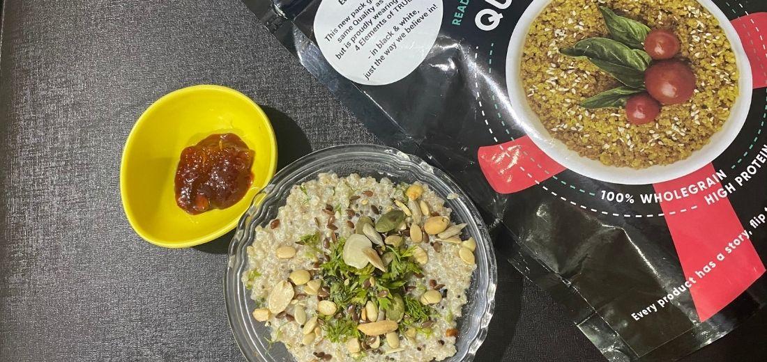 Pav Bhaji Quinoa