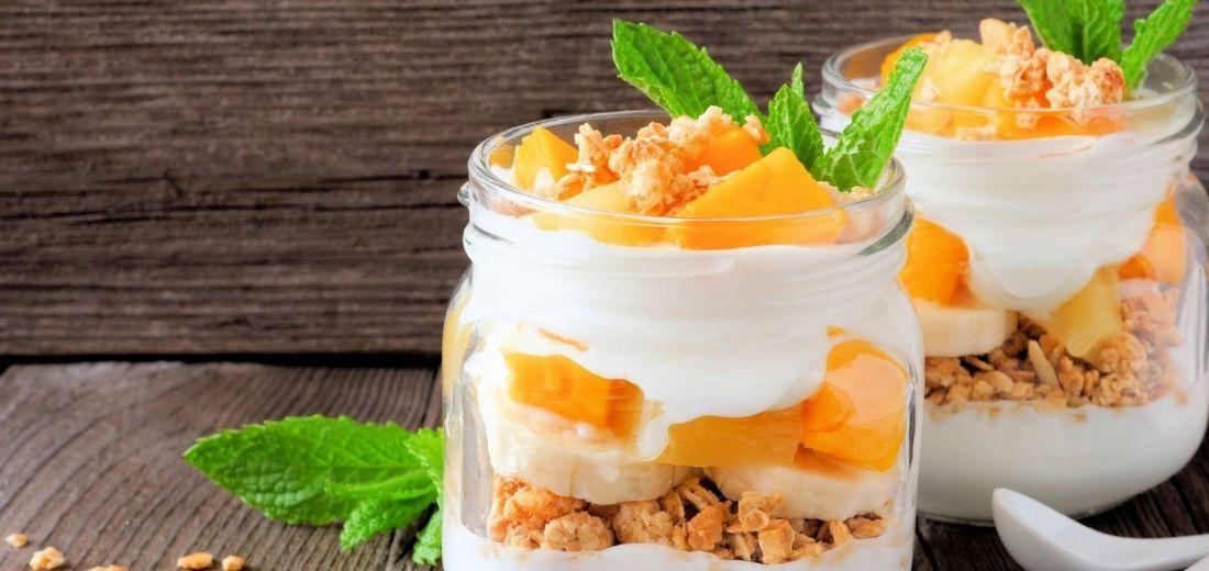Mango Oatmeal Parfait