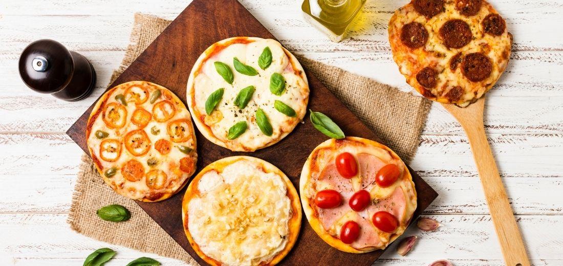Mini Quinoa Pizza