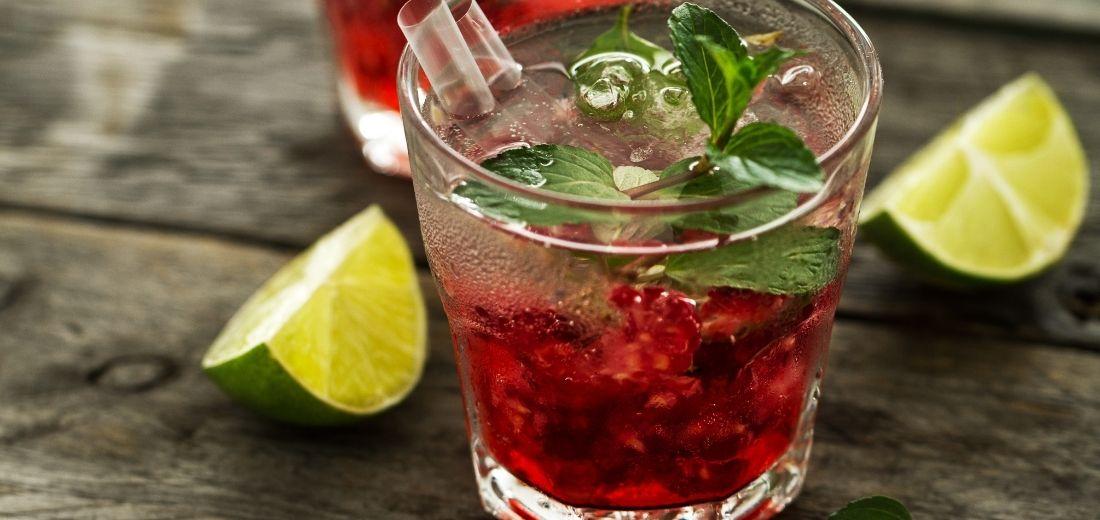 Mixed Berries Mojito