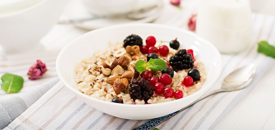 Quinoa Berry Porridge