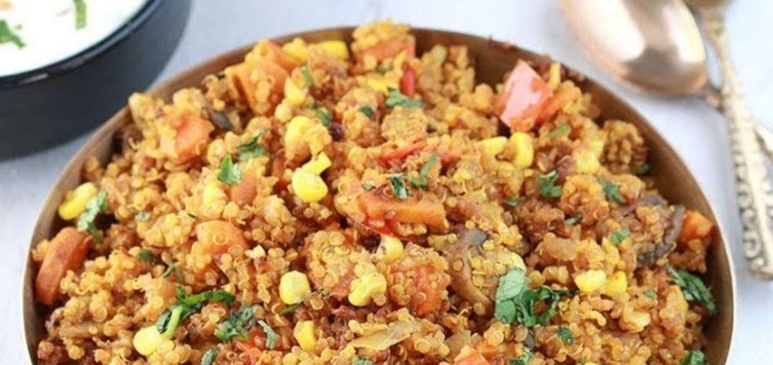 Quinoa Veggi Pulav