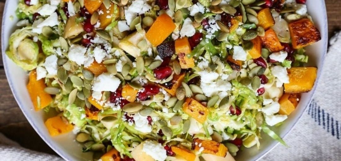 Raw Seeds Sprouts Salad