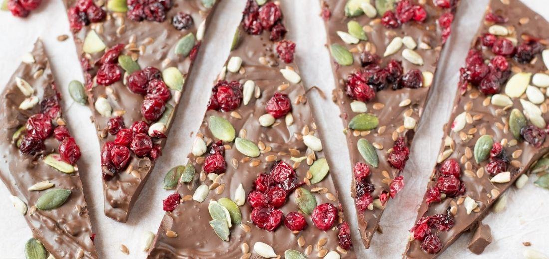 Seeds and Chocolate Bark