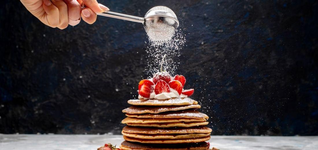Whole Oatmeal Pancakes