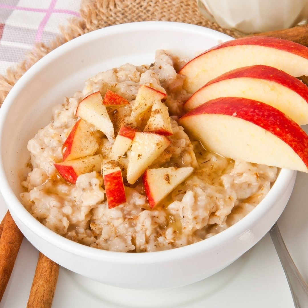 Apple Oatmeal Porridge